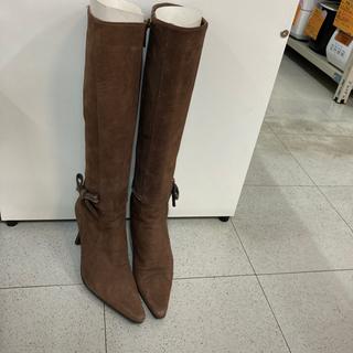 ロングブーツ 23.5cm リサイクルショップ宮崎屋住吉店 21...