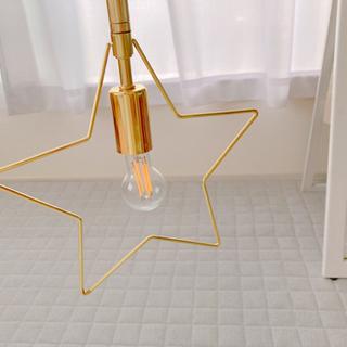 星 ランプ 吊り下げ ファンシー