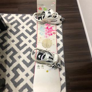 スノーボード 板(ビンディング付き)