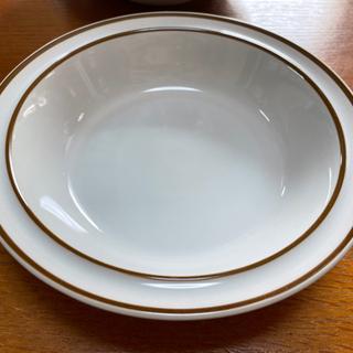 Yamato(Japan)ストーンウェア  レトロなスープ皿  ...
