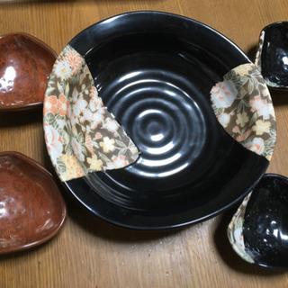 花模様 皿セット