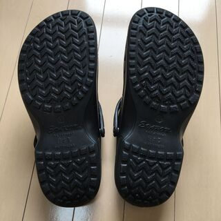 EVARONサンダル メンズLL 黒SA-5 日本製 - 靴/バッグ