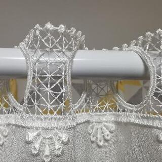 カフェカーテン幅153cm×75cm - 生活雑貨