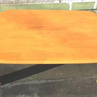 木製 折り畳み座卓  (60X90cm)