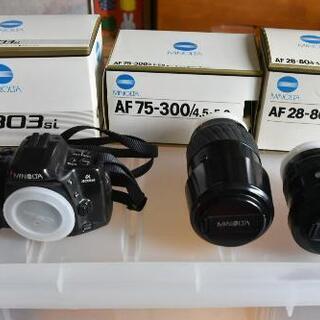 フィルムカメラ本体+レンズ二本