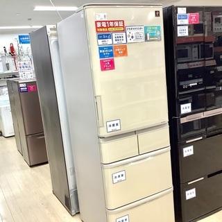 1年保証付!2020年製 SHARP(シャープ)の5ドア冷蔵庫「...