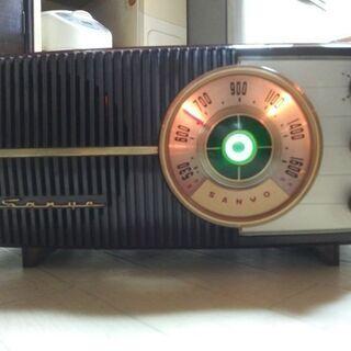 真空管ラジオサンヨーSS-70 新品マジックアイ付