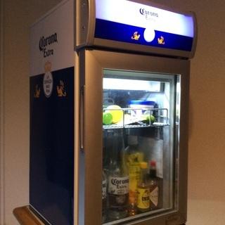 希少‼️corona冷蔵庫ショーケース25ℓ