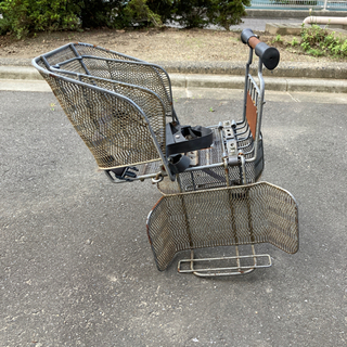 自転車チャイルドシートの画像