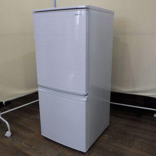 【ネット決済】美品中古 シャープ冷凍冷蔵庫 SJ-D14F-W ...