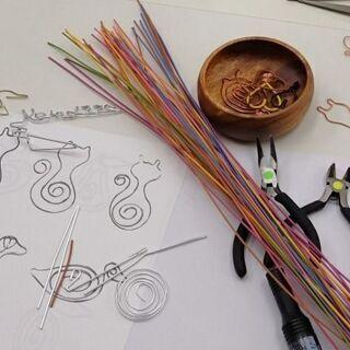 【10月16日土曜日】英語で学ぶクラフトワイヤー教室☆新しいカタチの英会話教室   Sen Craft Wire English - 英語
