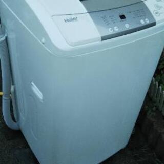 ハイアール全自動風乾燥機付き6kg用洗濯機JW-K60-W