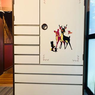 【ネット決済】ベビータンス バンビ レトロ家具*綺麗です