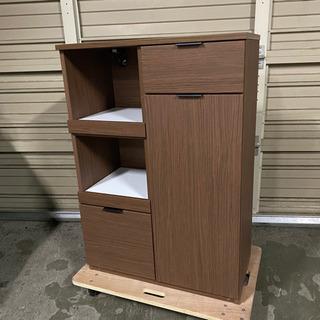 NITORI 木目調 レンジボード キッチン 収納 食器棚 ニト...