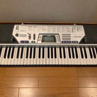 【ネット決済】キーボード カシオ CTK-496 casio