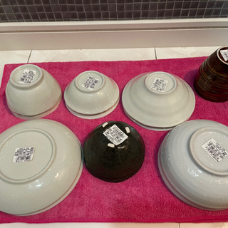 ※お相手が決まりました※水玉の和食器セット 小鉢 和皿 新品 未使用品 全部で15点! − 愛知県