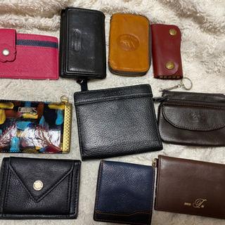 キーケース 折り財布 小銭入れ パスケース 1つ500円