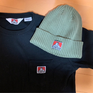 BEN DAVIS ニット帽&Tシャツ サイズM ベンデイビス