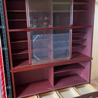 11月中旬まで!昭和レトロ 食器棚 取りに来ていただける方