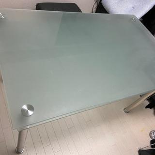ガラステーブル 2段