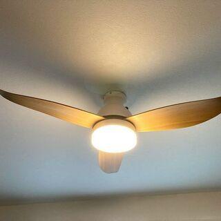 リュード シーリングファンライト 大型3枚羽根 LEDライ…