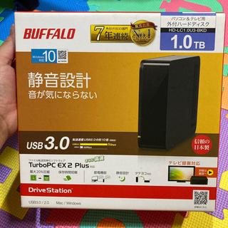 【ネット決済・配送可】BUFFALO 1.0TB