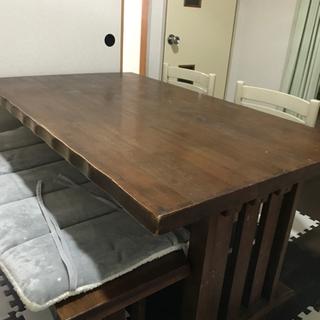 ☆取引相手決まりましたテーブル 縦150横80高さ90(く…