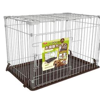 【ネット決済】マルカン ドッグフレンドルーム 天面フェンス付 犬用