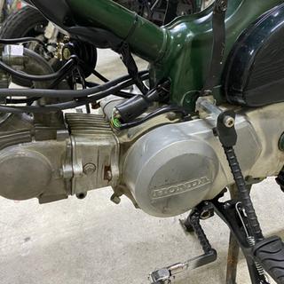カブ 3速 キタコ75cc エンジン
