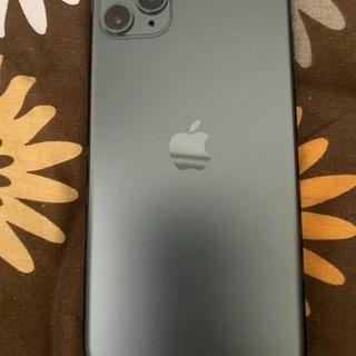 【ネット決済・配送可】Iphone 11pro max gree...