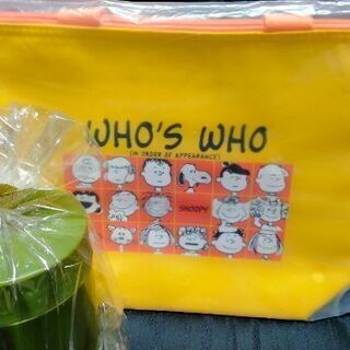 【ネット決済】スープジャー と スヌーピー保冷バッグ