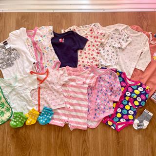 0〜12ヶ月 50〜70cm 赤ちゃん お洋服 セット売り