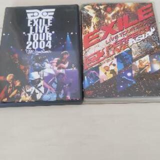EXILE LIVEDVD 2本