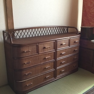 【ネット決済】【格安】 籐の家具