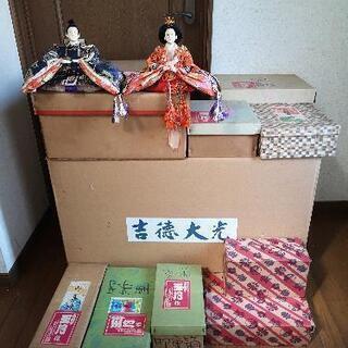 ※お話中~【昭和の年代物】吉徳大光 雛人形 七段飾り