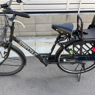 自転車 ステップクルーズ T.Xマットカーキ 変速なし