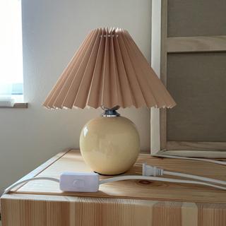 プリーツ ランプ 照明