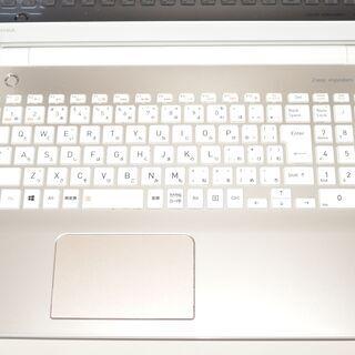 中古ノートパソコン Windows10+office 東芝 Dynabook T65/GG 高性能core i7-8550U/新品爆速SSD512GB/メモリ8GB/DVDマルチ/無線内蔵/テンキ - パソコン