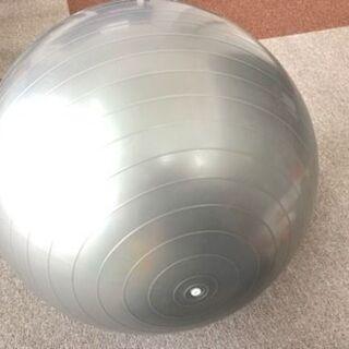 ヨガバランスボール 55cm シルバー