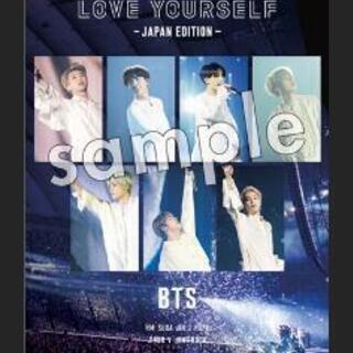 BTS DVD購入特典のポスター