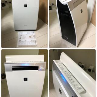 【美品】高濃度プラズマクラスター25000搭載 加湿空気清浄機