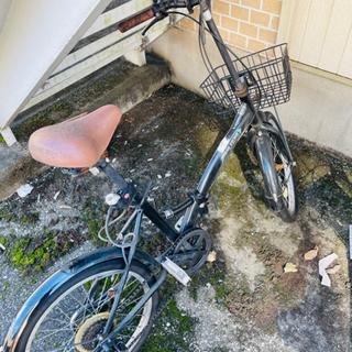 【ネット決済】折りたたみ自転車 です。