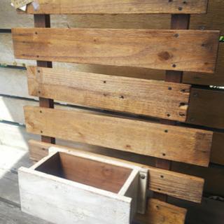 手作りガーデニング木工雑貨
