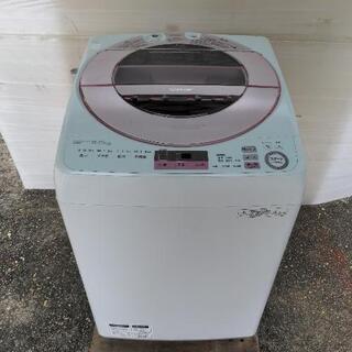 2017年式 SHARP  全自動洗濯機 ES-GV8A-P