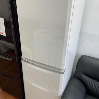送料・設置込み 冷蔵庫 335L MITSUBISHI 2019年
