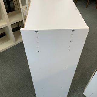 MJ 291 ボックス付き カラーボックス3段 - 家具