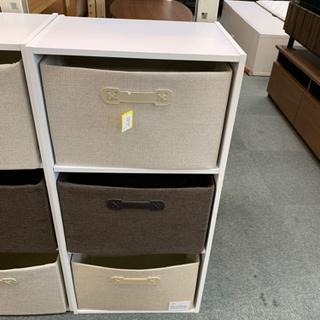 MJ 291 ボックス付き カラーボックス3段の画像