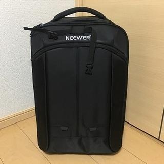 【ネット決済・配送可】大容量カメラバッグ(キャリーケース)