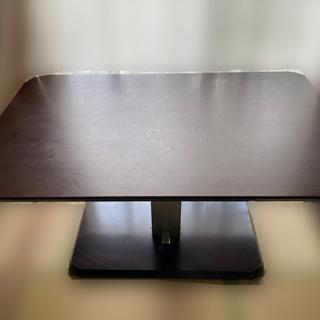 昇降式リビングテーブル