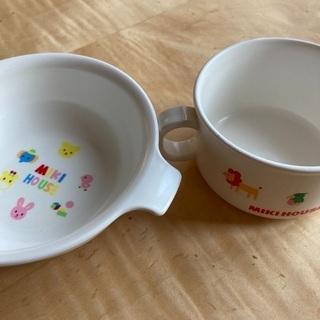 子供用プラ食器 2つセット